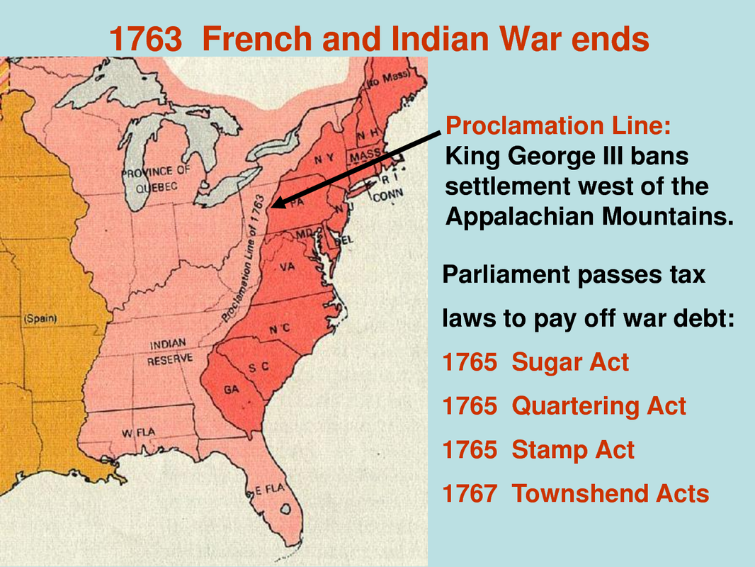 Unit 03 Pt 1 Causes Of The Revolutionary War Mr Michael Morse - Map-of-us-during-revolutionary-war
